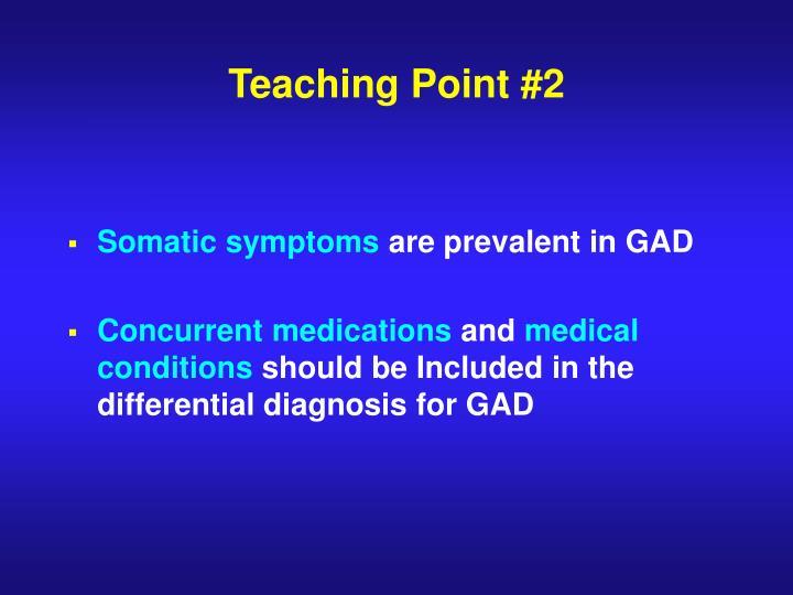 Teaching Point #2