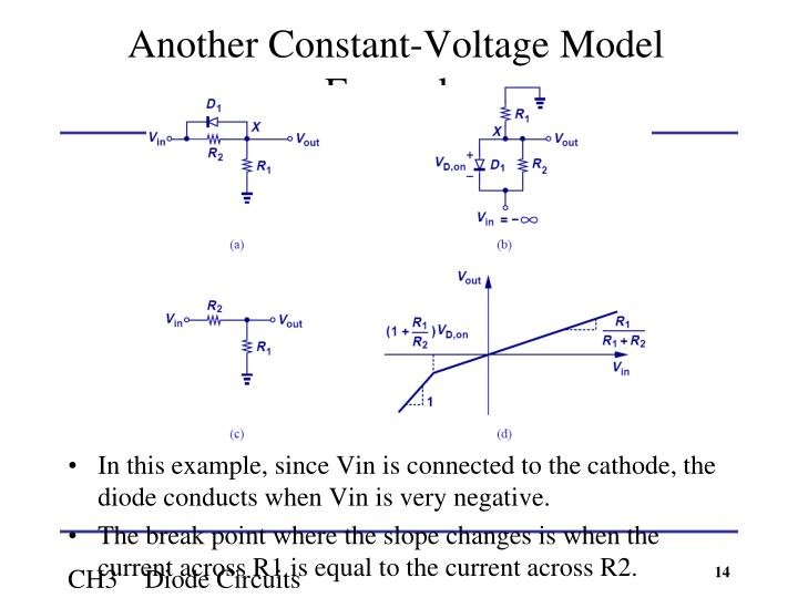 Another Constant-Voltage Model Example
