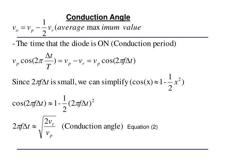 Equation (2)