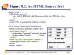 figure 8 2 an html source text