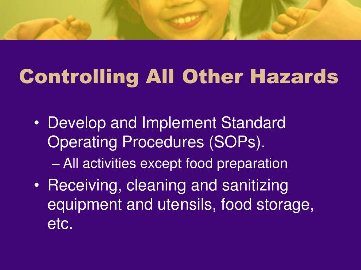 Controlling All Other Hazards