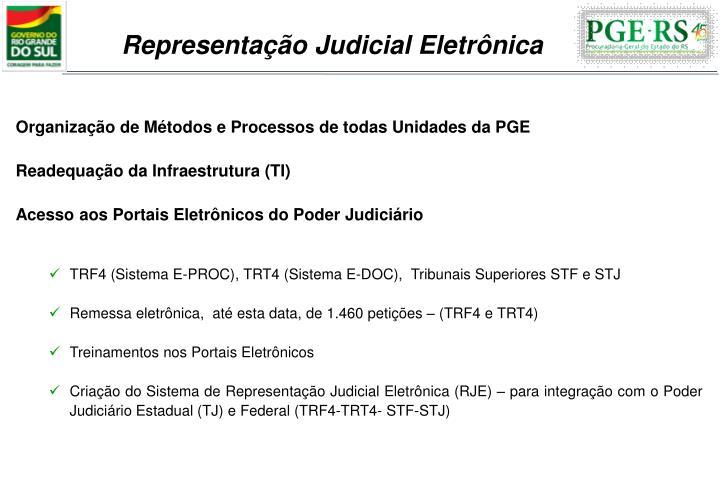 Representação Judicial Eletrônica