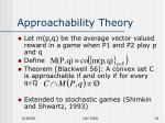 approachability theory1