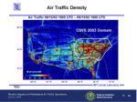 air traffic density