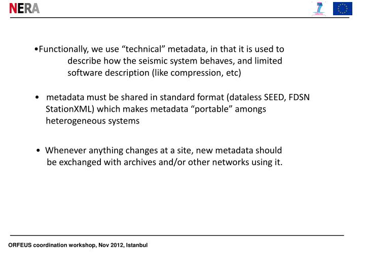 "Functionally, we use ""technical"" metadata, in that it is used to"