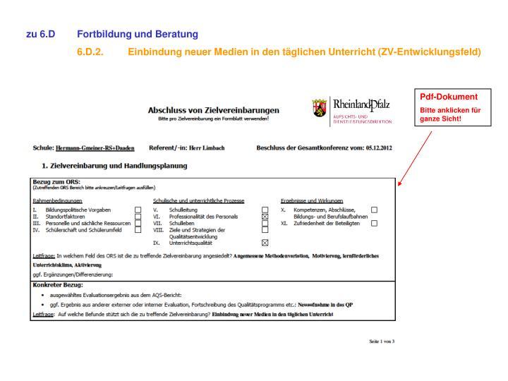 zu 6.DFortbildung und Beratung