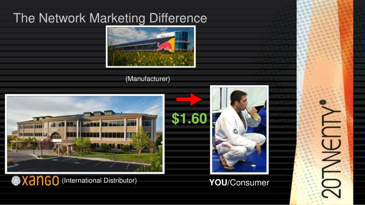 The Network Marketing Difference