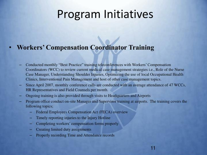 Program Initiatives