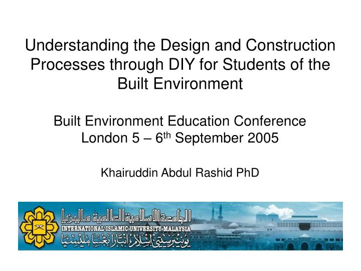 Understanding the Design and Construction