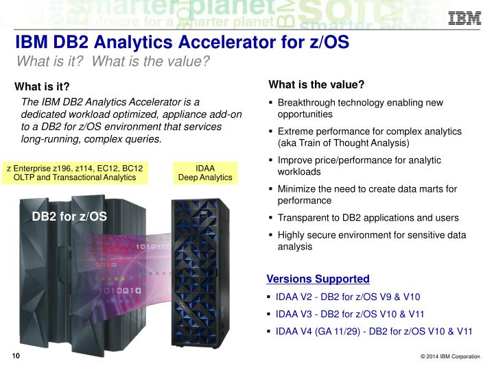 IBM DB2 Analytics Accelerator for z/OS