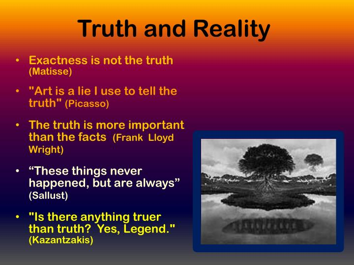 Truth and Reality