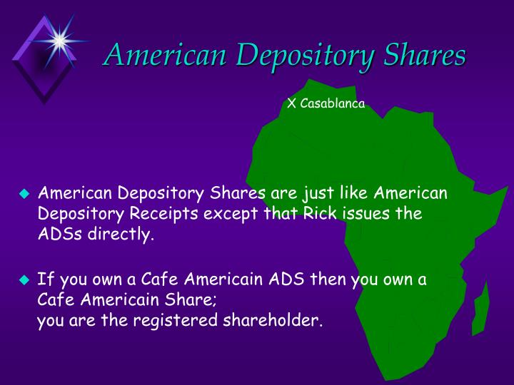 American Depository Shares