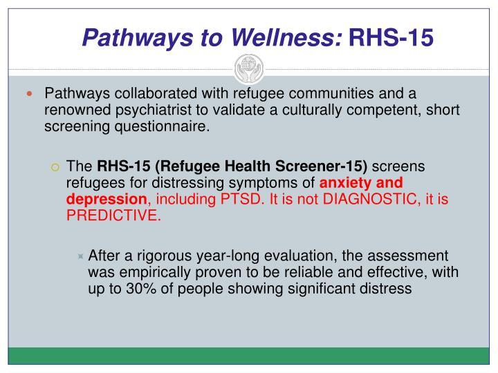 Pathways to Wellness:
