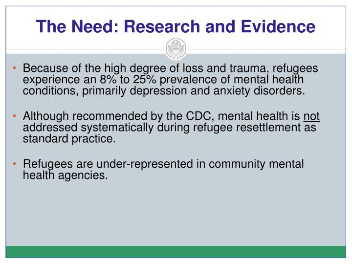 The Need: Research and Evidence