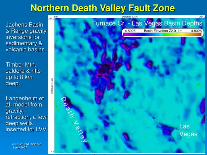 Northern Death Valley Fault Zone