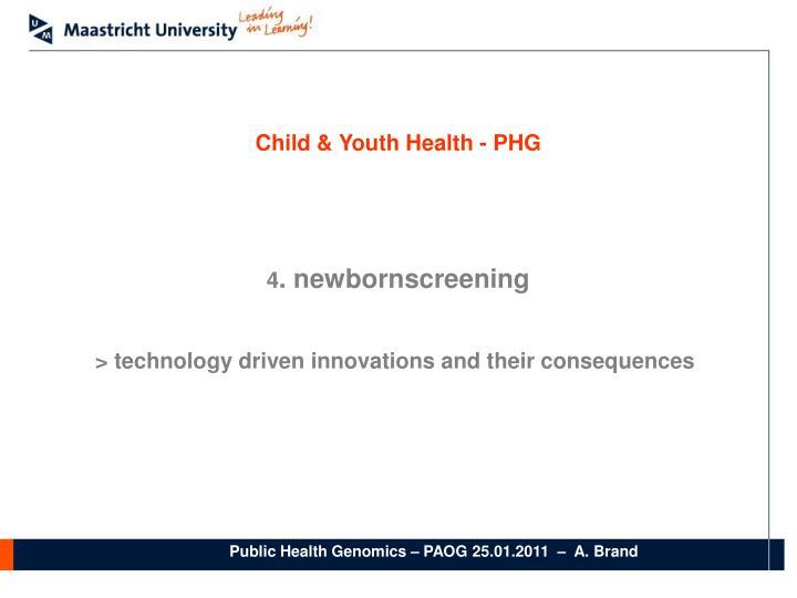 Child & Youth Health - PHG