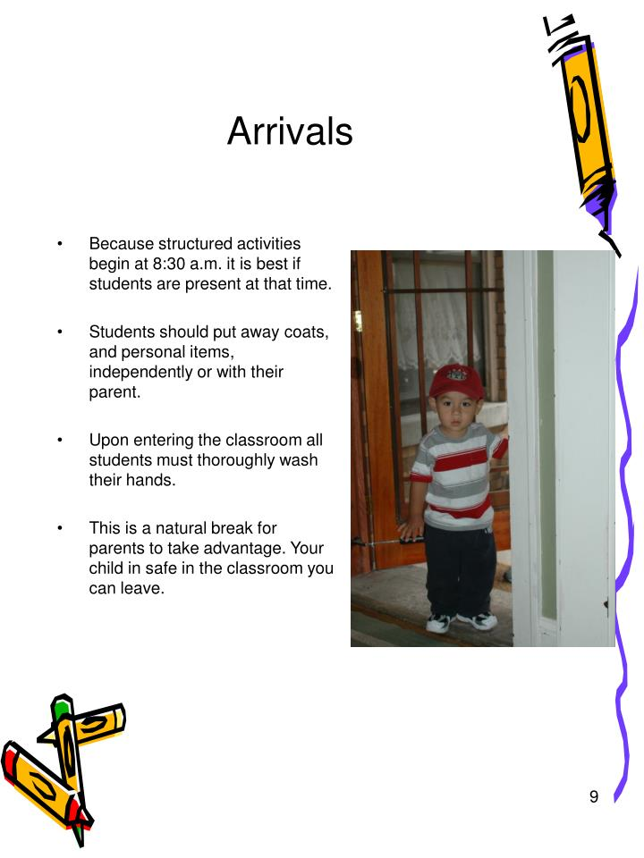 Arrivals