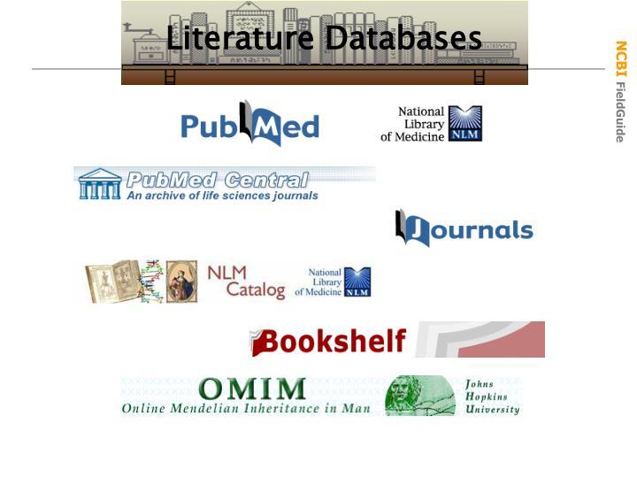Literature Databases