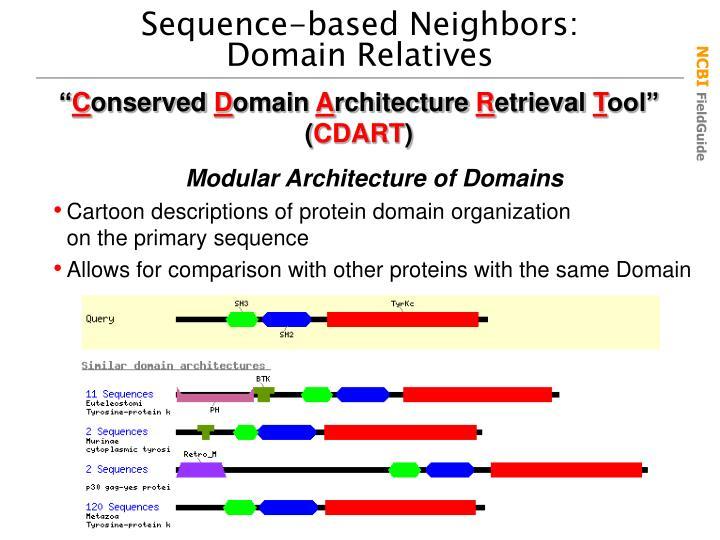 Sequence-based Neighbors: