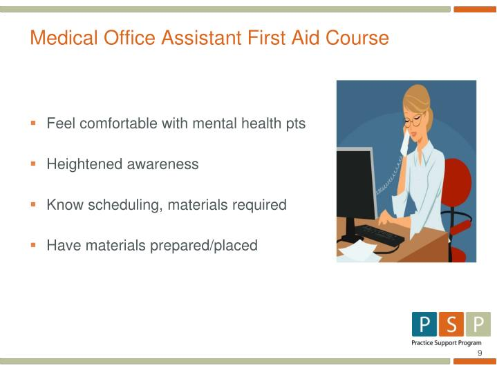 Medical Office Assistant First Aid Course