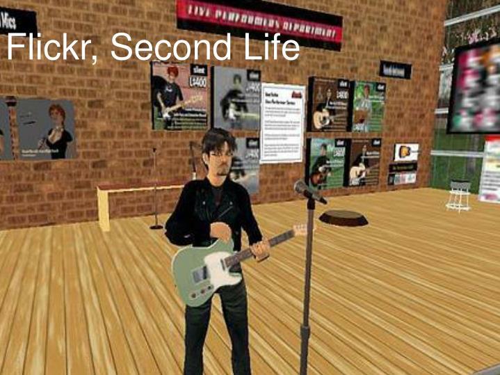 Flickr, Second Life