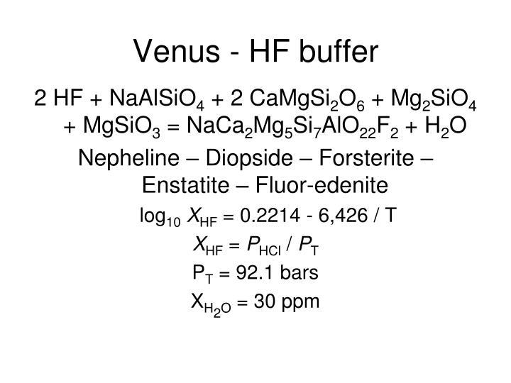 Venus - HF buffer