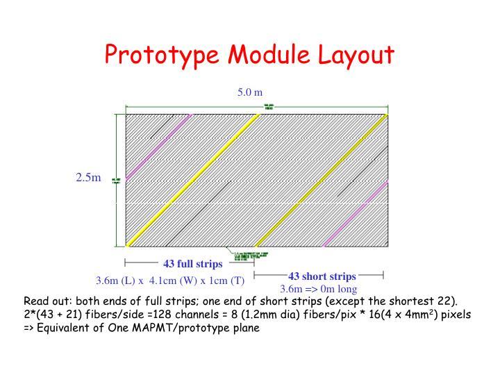 Prototype Module Layout