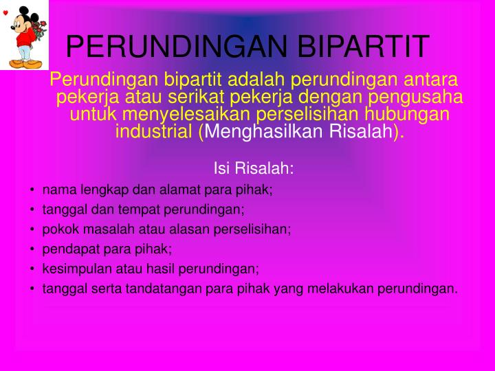 PERUNDINGAN BIPARTIT