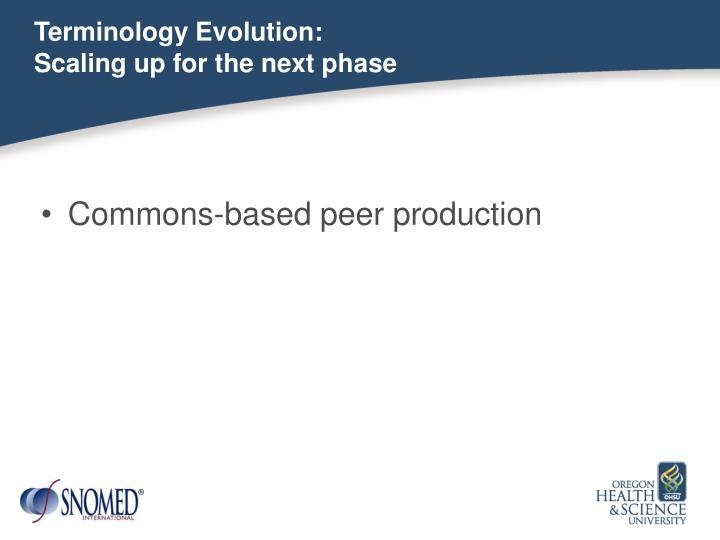 Terminology Evolution: