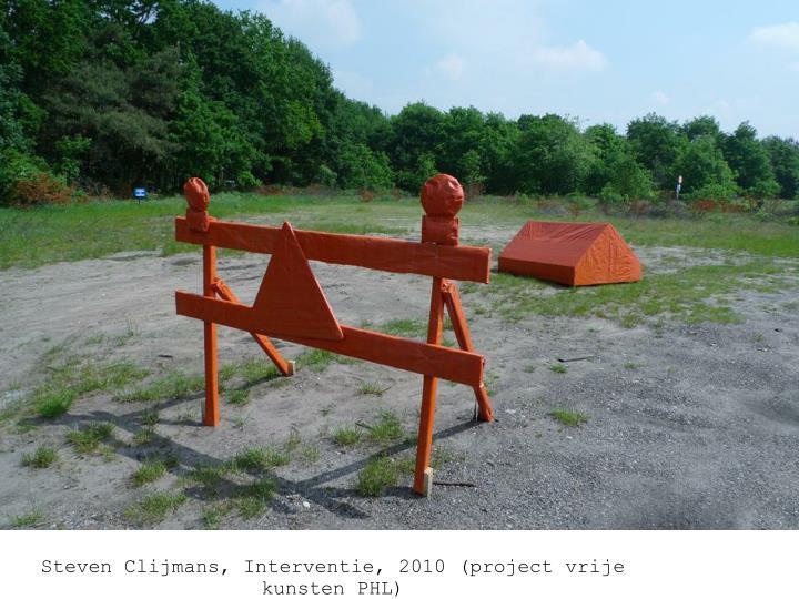 Steven Clijmans, verboden te kamperen, interventie