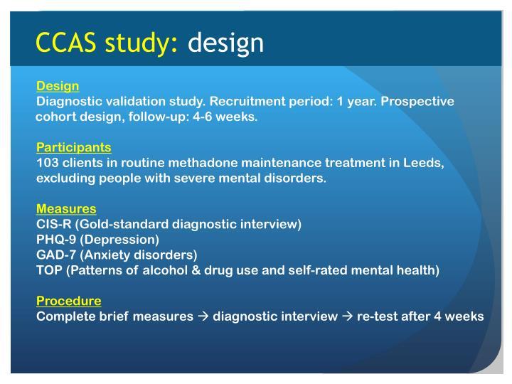 CCAS study: