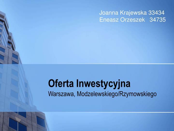 Joanna Krajewska 33434