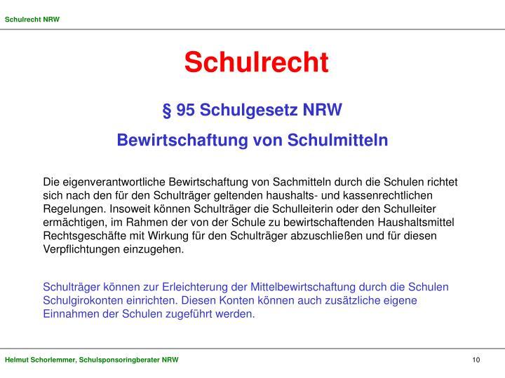 Schulrecht NRW