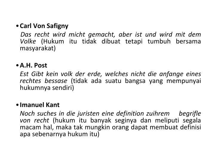Carl Von Safigny