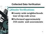 collected data verification1