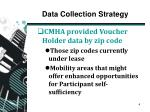 data collection strategy