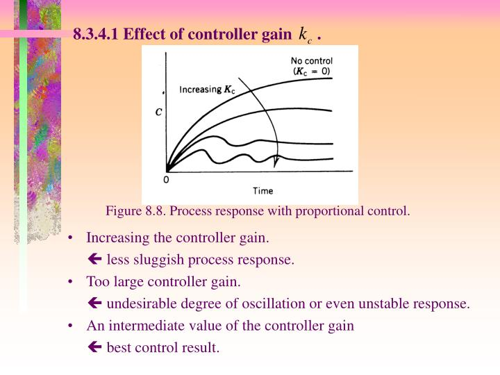 8.3.4.1 Effect of controller gain      .