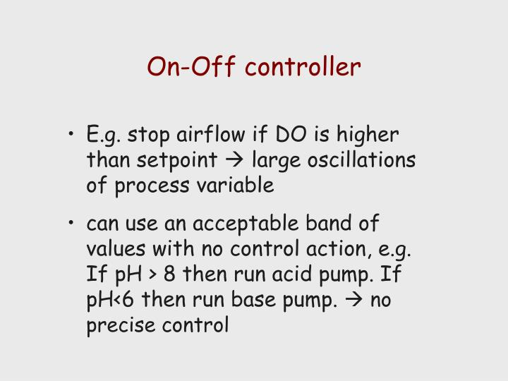 On-Off controller