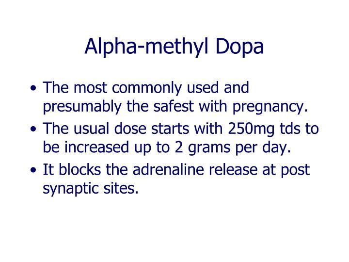 Alpha-methyl Dopa