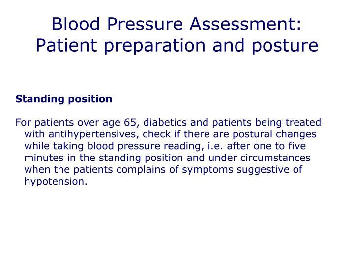 Blood Pressure Assessment: