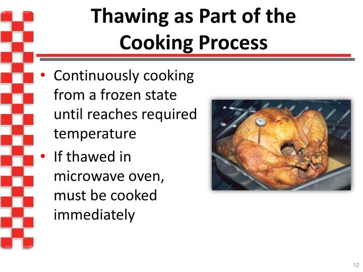 Thawing as Part of the