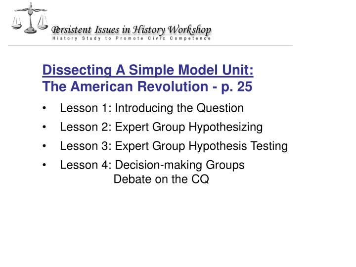 Dissecting A Simple Model Unit: