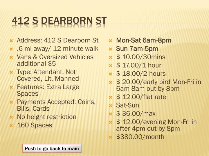 412 S Dearborn St