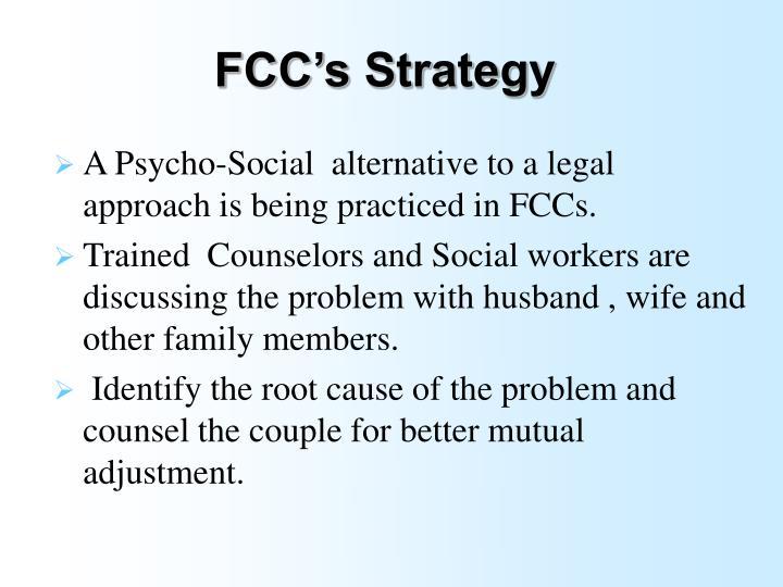 FCC's Strategy