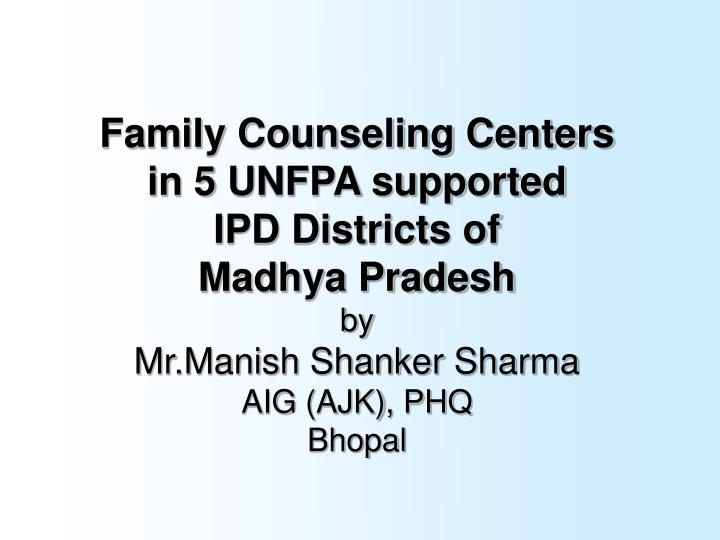 Family Counseling Centers
