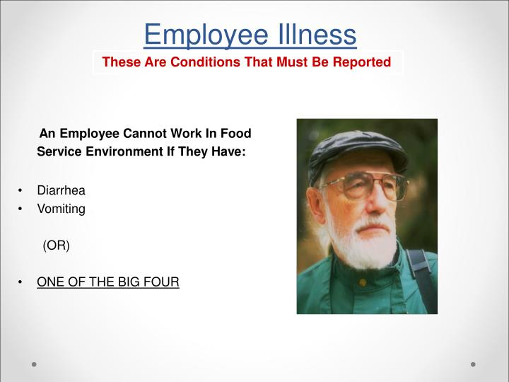 Employee Illness