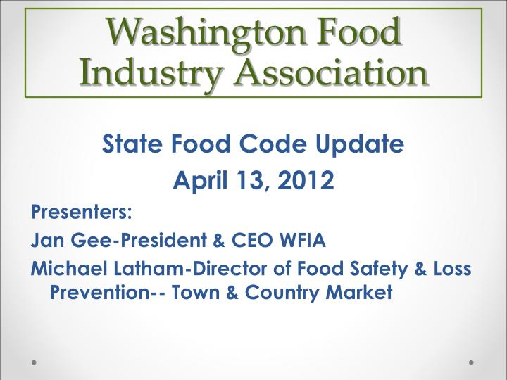 washington food industry association