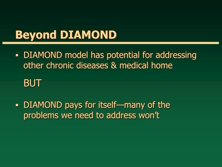 Beyond DIAMOND