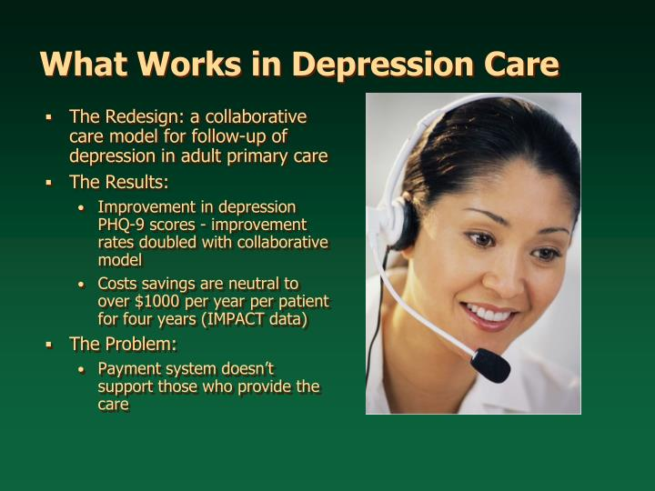 The Redesign: a collaborative care model for follow-up of depression in adult primary care