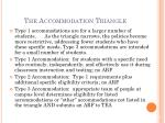 the accommodation triangle1